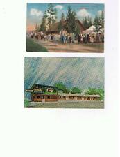 Postcard MT WY Wylie Geyser RARE Cody Way Yellowstone Missoula Cards photo pack