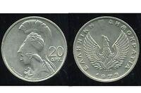 GRECE  20 drachmai 1973
