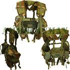 Woodland Camo LBV Tactical Vest Lot of 10 Brand New 6 Pockets