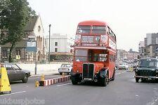 London Transport RT1790 Lewisham Aug 1978 Bus Photo