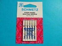 Sewing Machines Needle Stick Pin Embroidery Thickness 75-90 Schmetz Flat Piston