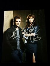 Sanctuary AMANDA TAPPING & ROBIN DUNNE 8x10 SIGNED Photo Comes w COA