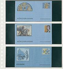 5 Lindner 822P Housses Transparentes Briefehüllen 3x 240x90mm+ Noir