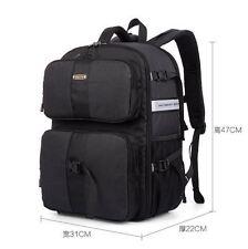 Waterproof Large Camera Backpack Travel Camcorder DSLR SLR Laptop Shoulders Bag
