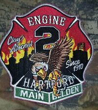 Hartford Connecticut Engine Co 2 Patch
