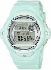 Casio BABY-G SHOCK BG169R-3 World Time Pastel Mint Green Digital Ladies Watch