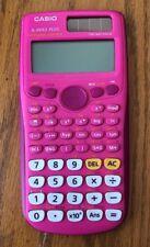 Casio fx-300Es Plus Scientific Calculator, Pink, Used, (Missing cover)