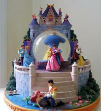 Disney Princess dancing  snowglobe Beauty and the beast, Cinderella, Ariel,