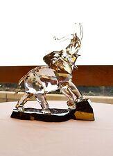 Swarovski Soulmate Large Elephant Golden Shine Signed 1120446 Brand New In Box