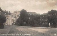 Ostseebad Henkenhagen Pommern Dorfstrasse mit Strandschloß Fotokarte 1927