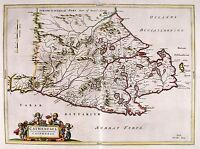 MAP ANTIQUE BLAEU SCOTLAND 1654 CAITHNESS OLD LARGE REPLICA POSTER PRINT PAM0589