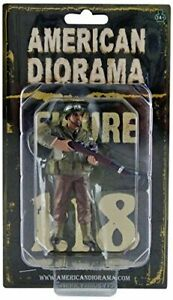 American Diorama WWII Military Police Figure IV for 1:18 Scale Models 77417