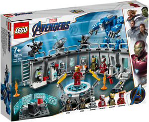 LEGO Marvel Super Heroes 76125 - Iron Man Hall of Armour