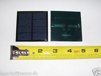 2V x 200 mA Mini Solar Panel encapsulated virtually indestructible solar cells
