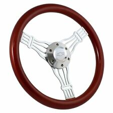 """1960 -69 Chevy C10 Pick Up Truck 15"""" Banjo Steering Wheel, Chevy Bowtie Horn"""