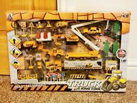 Construction Set 40 Piece Children Kids Toys Play Set Playset DIY Builder Truck