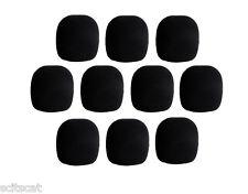 Hosa Black Foam Microphone Mic Wind Screen Pop Blocker Clean Sound (10-Pack) x10