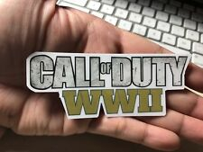 Call Of Duty World At War 2 Laptop Sticker