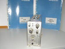 TEKTRONIX 7 S 11  & S 4  SAMPLING UNIT & HEAD