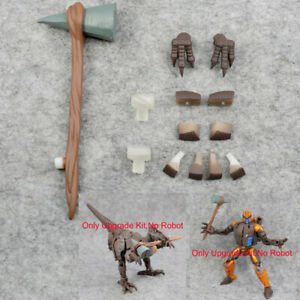 3D Upgrade KIT For Cybertron Kingdom Dinobot For Claw Stone Hammer War Replenish