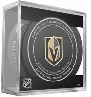 2017 2018 VEGAS KNIGHTS GAME PUCK INAUGURAL SEASON PLAYOFFS STANLEY CUP FINAL