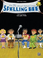 THE 25TH ANNUAL PUTNAM COUNTY SPELLING BEE--PIANO/V/GUITAR CHORDS MUSIC BOOK NEW