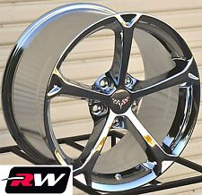 "Corvette Wheels 2010 C6 Grand Sport Chrome Rims 17"" / 18"" inch fit C4 1988-1996"