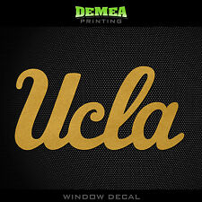 "UCLA Bruins_UCLA - NCAA - Gold Vinyl Sticker Decal 5"""