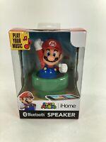 Nintendo Super Mario iHome Bluetooth Speaker New Man Cave Game Room 2020 Gamer