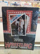 1988 tarjetas Wonderama NWA/Wcw Wrestling Cera Caja BBCE Wwf Wwe Awa extremadamente rara!