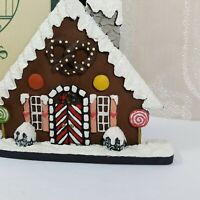 Gingerbread House North Pole Collection Marlene Whiting Brandywine Collectibles