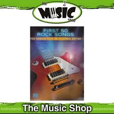 New First 50 Rock Songs You Should Play on Electric Guitar Music Book