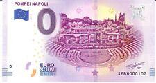 POMPEI NAPOLI - SOUVENIR BILJET 0 EURO, Italy - 2019/1-UNC (SB261)