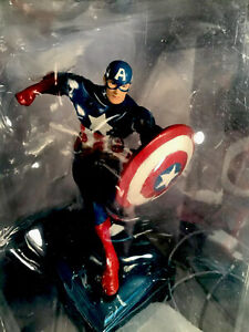 Marvel Avengers Captain America Collectible Paperweight Action Figure New!