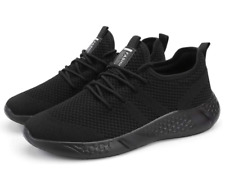 2 Pair Men's Sport Gym Running Shoes Walking Shoes Casual Lace Up Lightweight