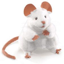 Weiße Maus  Folkmanis Puppets Handpuppe Handspielpuppe 2219