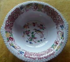 Antique/Vintage Alfred Meakin 'Moquette' china bowl 23/24 cm wide-6.5 cm deep