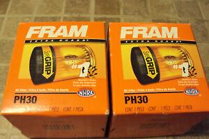 2 - Engine Oil Filter-Extra Guard Fram PH30