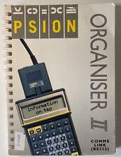 Psion Organiser ii Comms Link RS232 Handbook