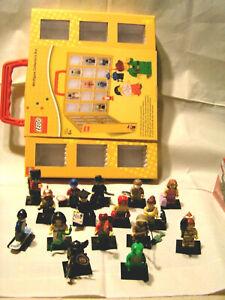 LEGO COLLECTOR - MINIFIGURINES SERIE 5 COMPLETE + COFFRET DE PRESENTATION SCELLE