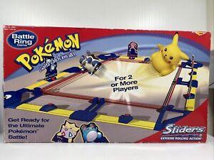 Pokemon Sliders Toys Vintage 90s Battle Ring Game (READ DESCRIPTION)