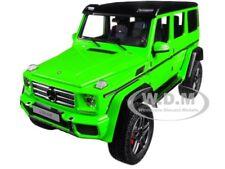 MERCEDES BENZ G500 4X4 2 ALIEN GREEN 1/18 MODEL CAR BY AUTOART 76315