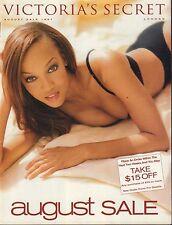 Victorias Secret August 1997 August sale Tyra Banks 030917nonDBE