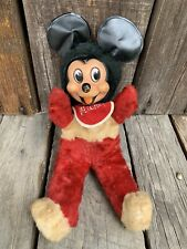 New listing Vintage Early Plush Mickey Mouse Toy - 13� Tall