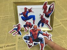 8 spider man superhero sticker scrapbook party candy bag birthday party gift