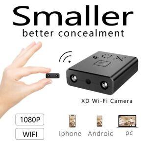1080P Mini Spy Hidden Camera Security Camcorder DVR Night Vision Motion