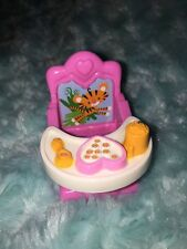 FISHER PRICE LOVING FAMILY TWIN TIME DOLLHOUSE GIRL Tray BABY BOOSTER HI CHAIR