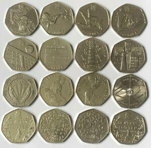 CHEAPEST 50p COINS RARE KEW GARDENS PETER RABBIT OLYMPIC BREXIT BEATRIX POTTER