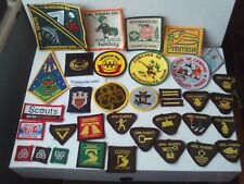 More details for girl guide badges/patches cloth sew-on (unused) x 36 job lot inc. activities
