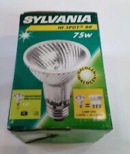 SYLVANIA Hi-Spot 80 230V 75W E27 25°  Warm White